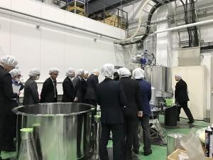 遠心分離機製造工場見学